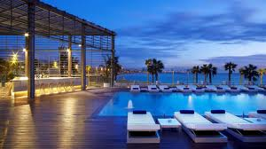 High class terrace Hotel Mandarin in Barcelona 2