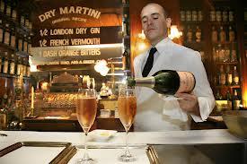 Coctelerías de lujo en Barcelona - Dry Martini 1