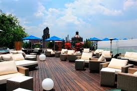 Luxury Terrace hotel W in Barcelona 1