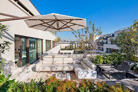High class terrace Hotel Mandarin in Barcelona 1