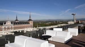 Terraza de lujo en Madrid - Hotel EXE MONCLOA 2