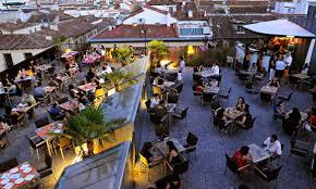 Guadeamos cafe terraza de lujo en Madrid 1