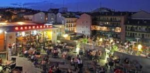 Guadeamos cafe terraza de lujo en Madrid 2