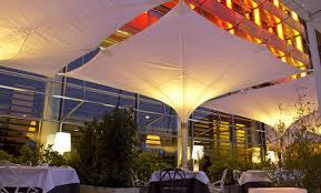 Terraza de lujo en Hotel Silken Puerta América en Madrid 2