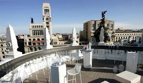 Terraza Hotel de lujo Ada Palace en Madrid
