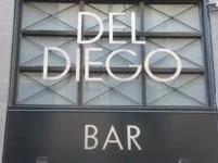 Coctelería del Del Diego en Madrid - Cartel